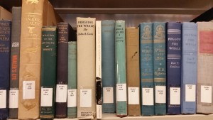 A whole section dedicated to old whaling books, back when whaling was A-OK